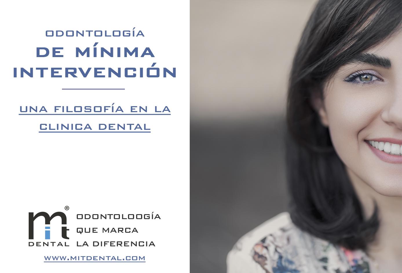 que es la odontologia de minima intervencion